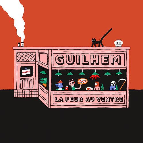 CD - Guilhem - La Peur Au Ventre