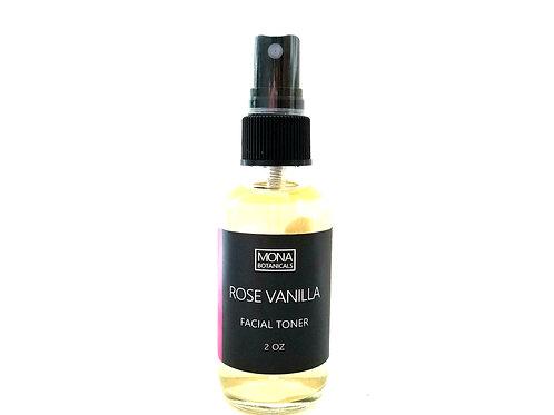 Rose Vanilla Brightening Facial Toner
