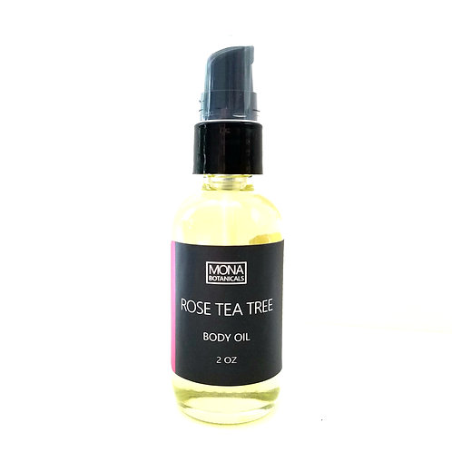 Rose Tea Tree Cleansing Body Oil