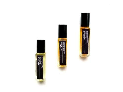 Vanilla Rum-Organic Essential Oil Perfume