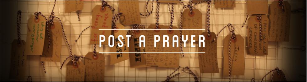 Post a Prayer