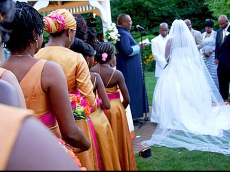 Melissa and Rodney's Mango & Azalea Caribbean Wedding