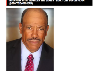 Tony D. Head Celebrity Haute Spot Interview