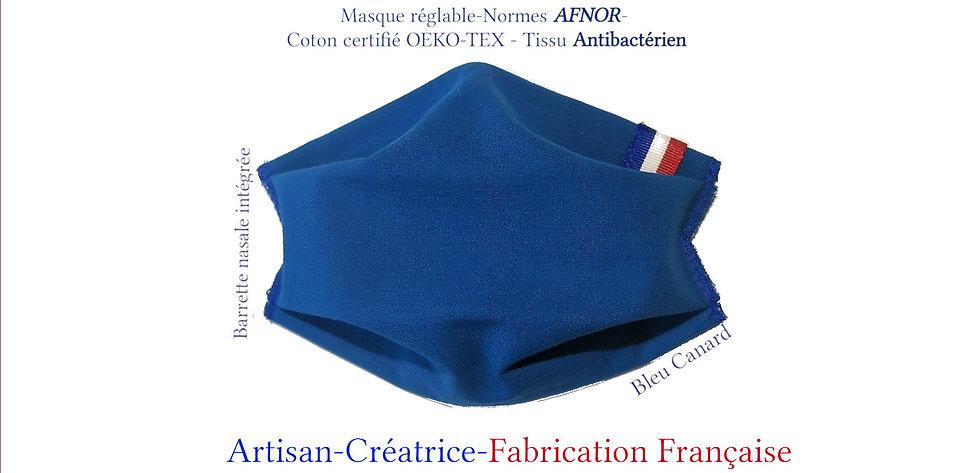 Masques drapeaux Français