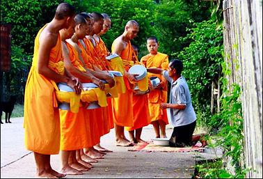 Bhuddist Monks