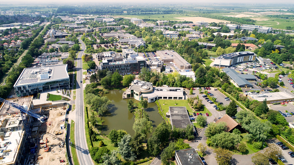 Aerial Shot of the Science Park