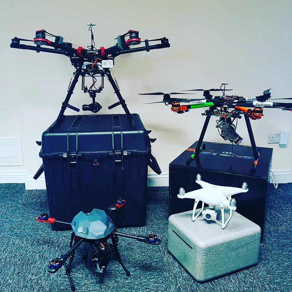 fleet of drones