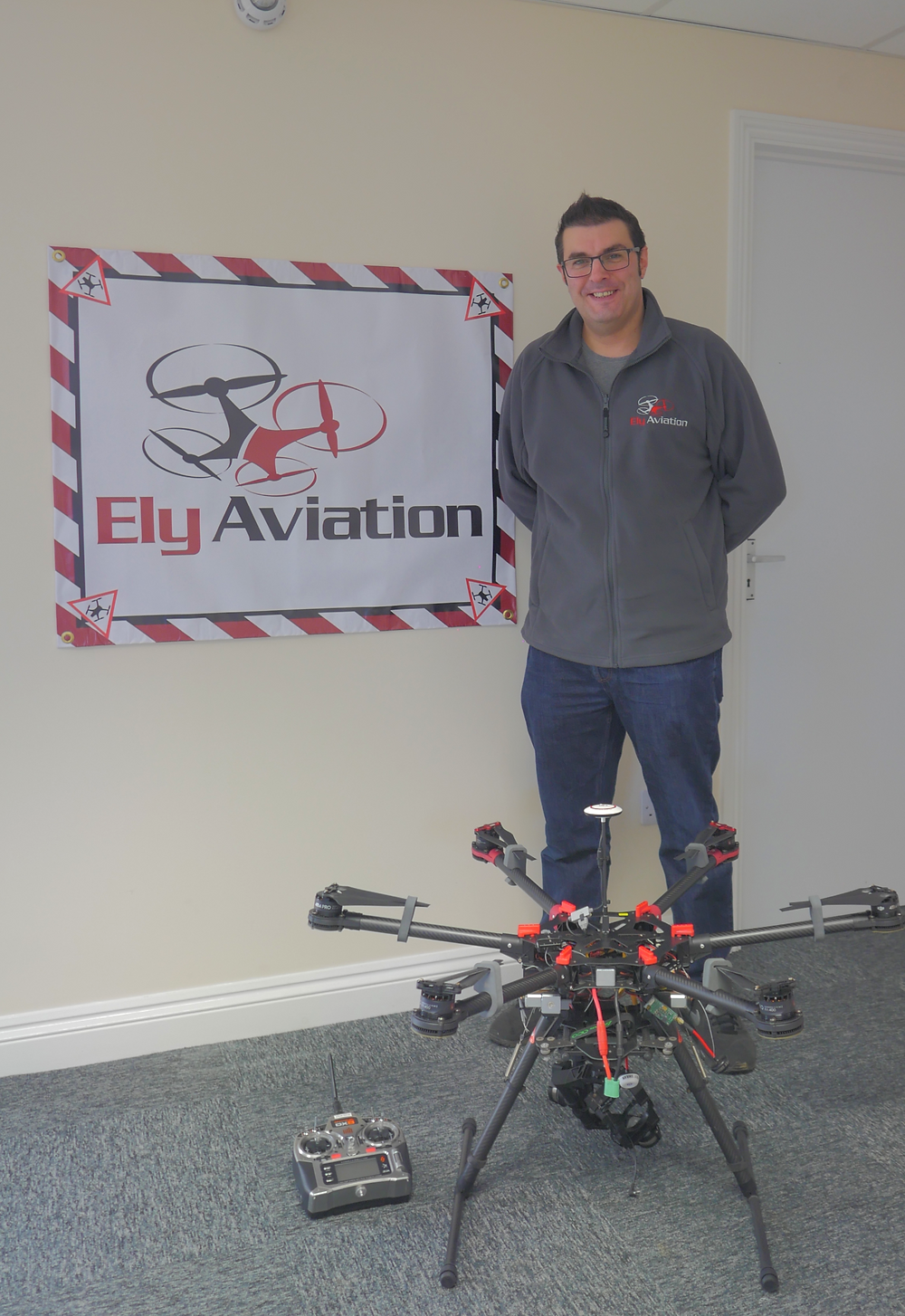 Ely Aviation Banner & Drone