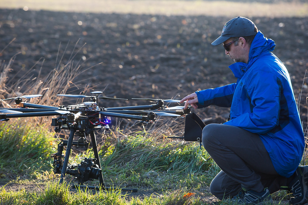 Drone Pilot With Drone