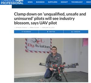 UAV Pilot With Drone