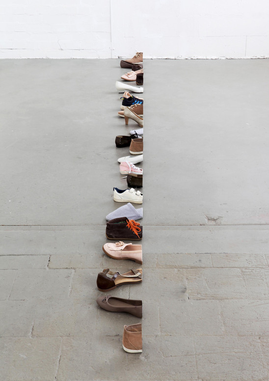 cutted shoes