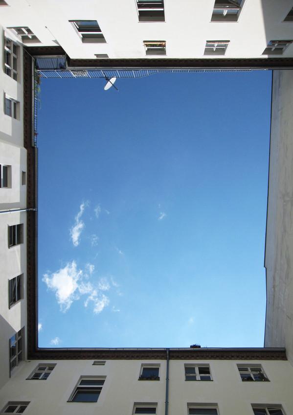 sky above Berlin