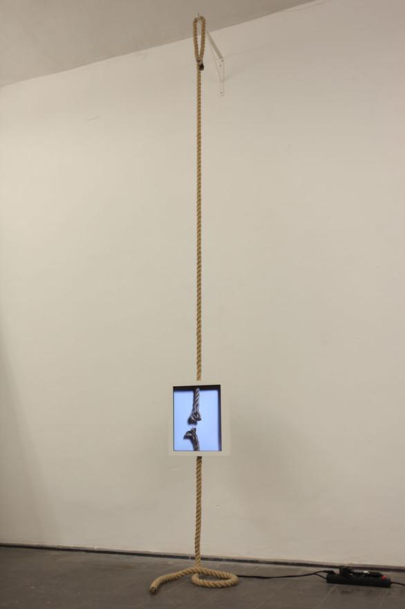a hemp rope