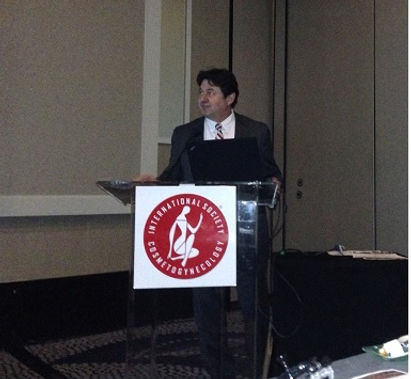 DR Marcovici Speaking at ISCG meeting