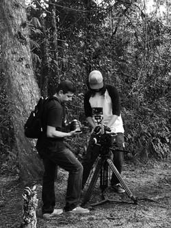 Filming advertising