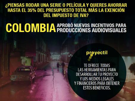 NUEVOS INCENTIVOS EN COLOMBIA