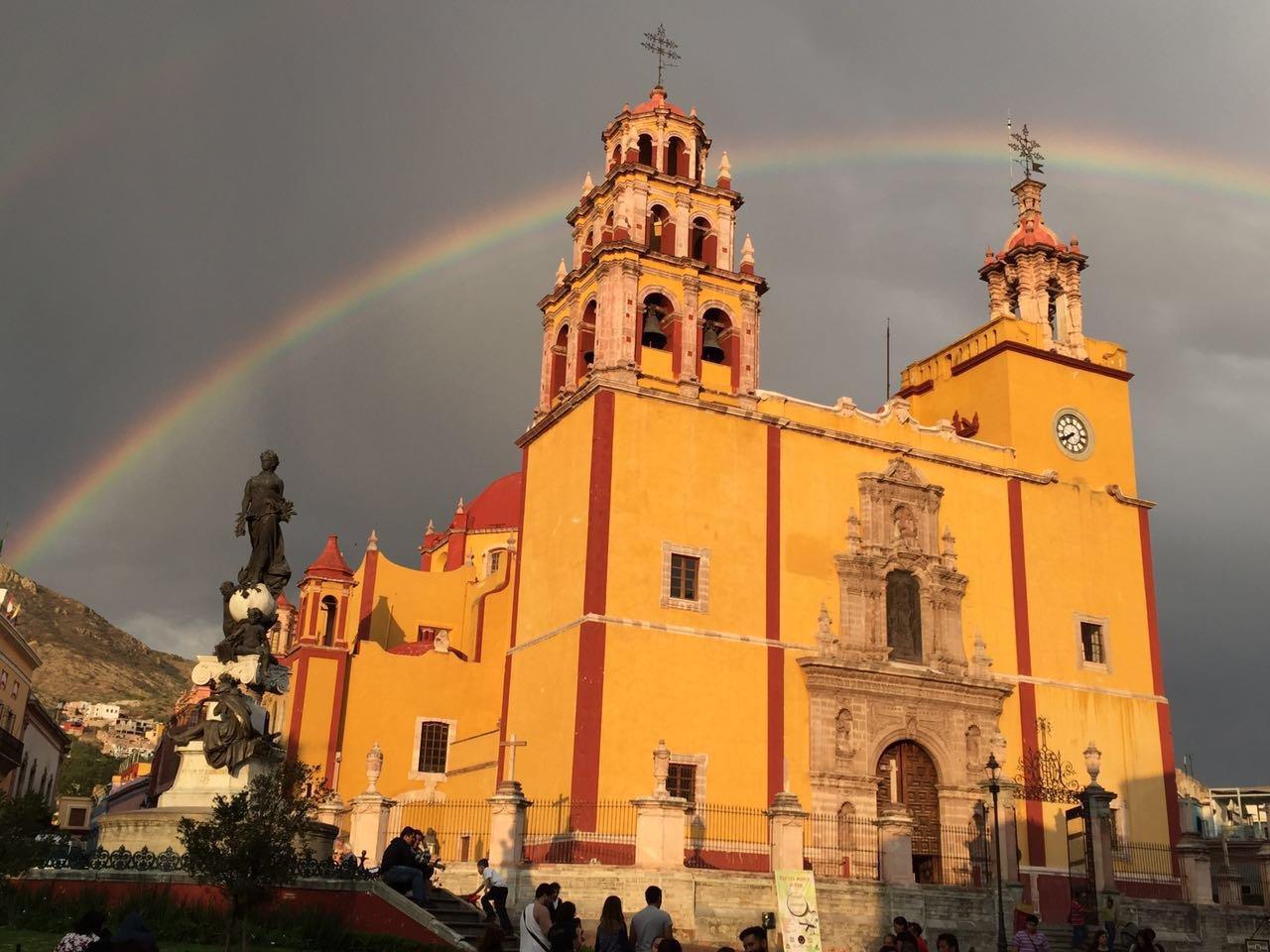 Guanajuato location mexico