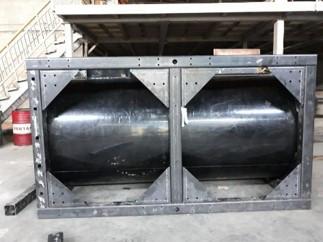 Modul Floating HDPE Tank