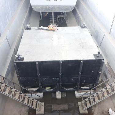 Fuel berth selesai dirangkai di lokasi