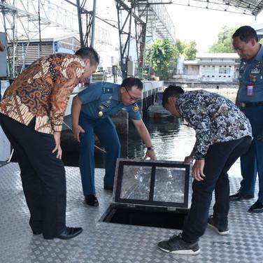 Quality check oleh TNI AL