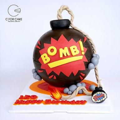 BOMB 炸彈 扑爆蛋糕