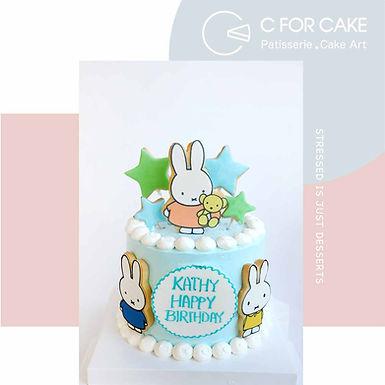 Miffy曲奇 Cream Cake