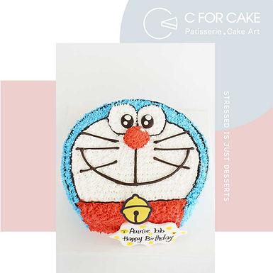 Doraemon 吱花蛋糕