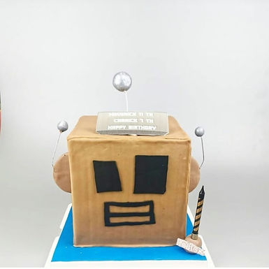 Roblox  機械人 扑爆蛋糕
