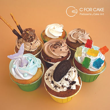 Summer Vibe Cup Cake 12件