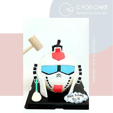 Gundam 扑爆蛋糕
