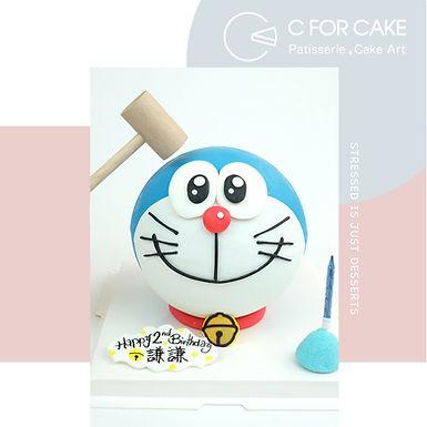 Doraemon Smile 扑爆蛋糕
