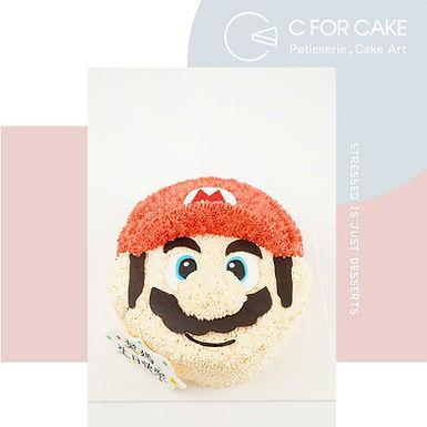 Mario 吱花蛋糕