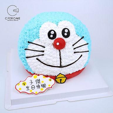 立體 Doraemon 吱花蛋糕