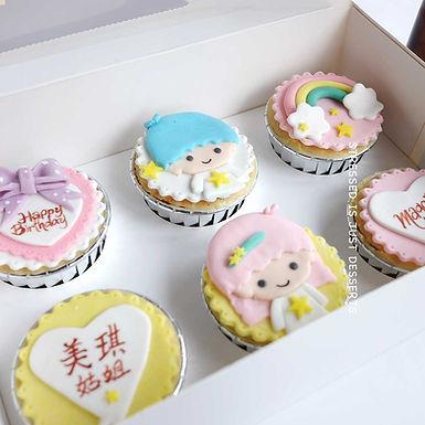 TwinStar Cup Cake 6件