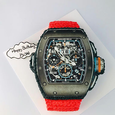RICHARD MILLE錶 吱花忌廉蛋糕