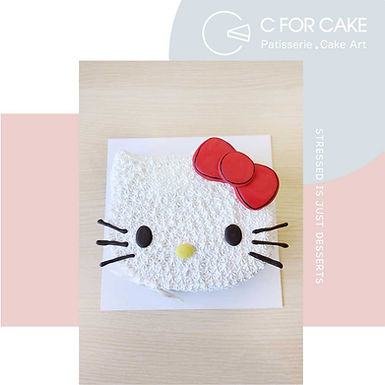 Hello Kitty 吱花蛋糕