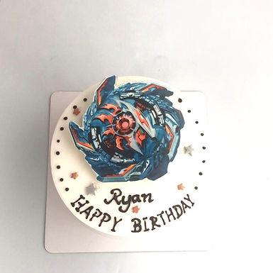 爆旋陀螺  數碼打印平面Cream Cake