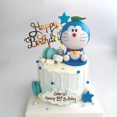 Doraemon .真.玩具 蛋糕