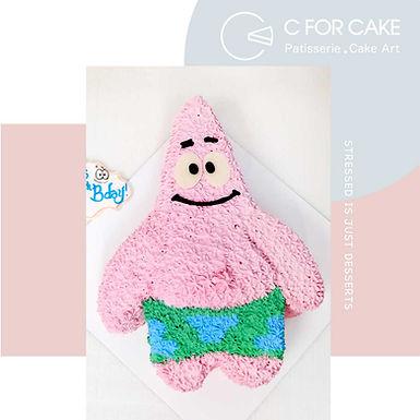 Patrick 派大星 吱花蛋糕