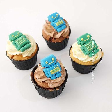 機械人Cup Cake 12件