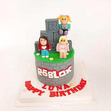 Roblox 翻糖公仔 牛油蛋糕