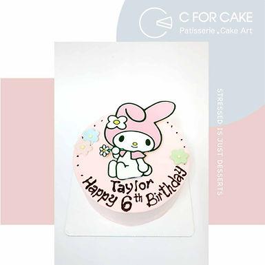 Melody 數碼打印 Cream Cake