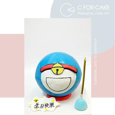 Doraemon 百寶袋 扑爆蛋糕