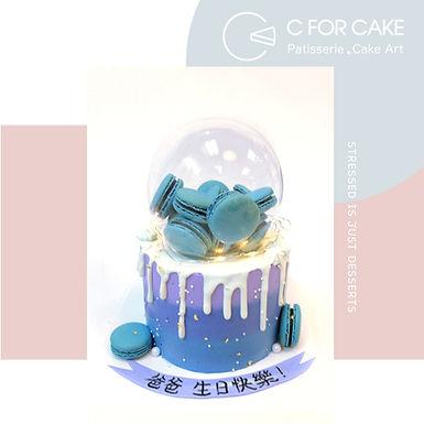 藍色多瑙河 水晶球