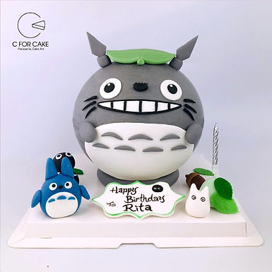 Totoro 龍貓 扑爆蛋糕