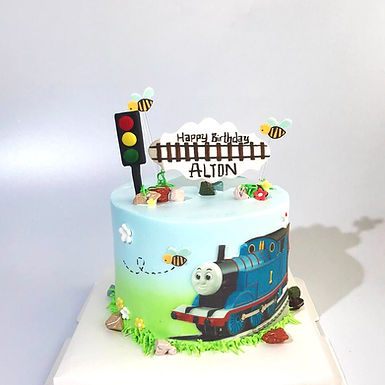 Thomas主題 數碼打印 Cream Cake