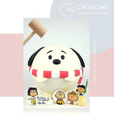 SNOOPY系列 扑爆蛋糕