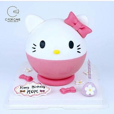 Hello Kitty扑爆蛋糕