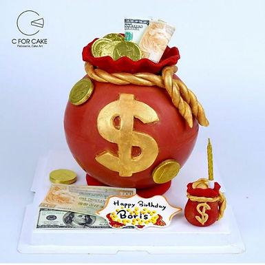 錢錢錢錢 錢袋  扑爆蛋糕
