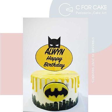 Batman Cream Cake